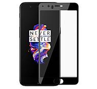Недорогие -Защитная плёнка для экрана OnePlus для One Plus 5 Закаленное стекло 1 ед. Защитная пленка на всё устройство Против отпечатков пальцев