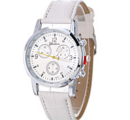 Fashion Casual Unique Luxury Charm Elegant PU Band Watches Quartz Watch Women Wristwatches Relogio Feminino Clock Watch