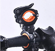 cheap -360 Degree Rotation Cycling Bike Bicycle Flashlight Torch Mount LED Head Front Light Holder Clip Bicycle Accessories