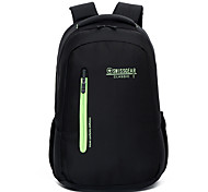 Backpacks for Universal Power Supply Flash Drive Power Bank Hard Drive Headphone/Earphone Mouse Solid Color Nylon Material
