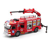 Игрушечные машинки Игрушки Строительная техника Пожарная машина Игрушки Грузовик Пластик Металлический сплав Металл Куски Универсальные