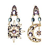 abordables -Mujer Pendientes cortos Pendientes colgantes Cristal La imitación de diamante Diseño Básico Diseño Único Colgante Diamantes Sintéticos