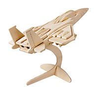 cheap -Muwanzi 3D Puzzles Jigsaw Puzzle Wood Model Plane / Aircraft Fighter Aircraft Famous buildings Architecture 3D DIY Wood Classic Unisex