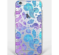 Caso para el iphone 7 más la cáscara suave del teléfono del patrón de flor del iphone 6 para el iphone 7 iphone6 / 6s más iphone6 / 6s