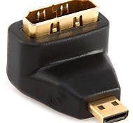 Micro HDMI Adaptador, Micro HDMI to HDMI 2.0 Adaptador Macho - Hembra