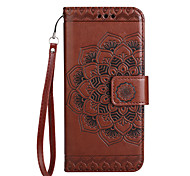 Case for Samsung Galaxy A3(2017) A5(2017) Cover Card Holder Wallet Flip Pattern Phone Case Mandala Flower PU Leather for Samsung A7(2017) A510 A310