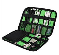 Waterproof Case Travel Luggage Organizer / Packing Organizer Portable Large Capacity Multi-function Travel Storage for USB Cable Clothes