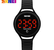 SKMEI Women's Sport Watch Digital Watch Digital PU Band Black Blue Red Green Yellow