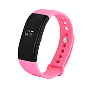 Women's Smart Watch Fashion Watch Digital Water Resistant / Water Proof Rubber Band Black White Blue Pink Purple