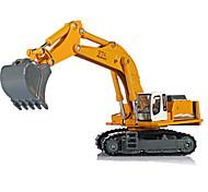 Недорогие -KDW Игрушечные машинки Игрушки Мотоспорт Строительная техника Экскаватор Игрушки Прямоугольный Экскаватор Металлический сплав Железо
