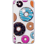 Case For Huawei P10 Lite P10 Case Cover Donuts Pattern TPU Material IMD Craft Mobile Phone Case For Huawei P8 Lite(2017)