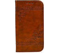 cheap -Case For Huawei P9 Huawei P9 Lite Huawei Huawei P8 Lite Card Holder Wallet with Stand Flip Embossed Full Body Cases Heart Hard PU Leather