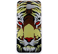Case For Samsung Galaxy J7 (2017) J5 (2017) Case Cover Tiger Head Pattern 3D Relief Milk TPU Material Phone Case For Galaxy J3 (2017) J7 Prime