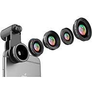 cheap -Mobile Phone Lens Lens with Filter / Fish-Eye Lens / Long Focal Lens Aluminium Alloy 10X and above 185