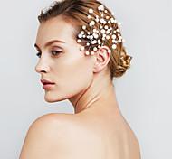 женские ювелирные изделия перлы волос цветка заколки для свадьбы (набор из 6)