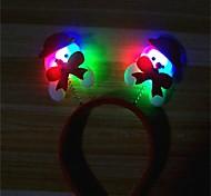Недорогие -1шт рождественские украшения элементы рождественский свет головной полоса шпилька дизайн случайный