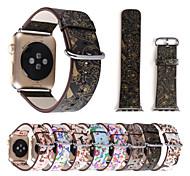 Часовая группа для серии часов яблока 1 2 38 мм 42 мм цветки подлинной браслет браслет браслет