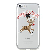 Case For IPhone 7 6 Christmas TPU Soft Ultra-thin Back Cover Case Cover iPhone 7 PLUS 6 6s Plus SE 5s 5 5C 4S 4