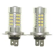 Sencart 2pcs H7 PX26d Fog Driving Light Headlight Bulbs Lamps(White/Red/Blue/Warm White) (DC/AC9-32V)