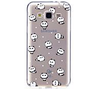 cheap -Case For Samsung Galaxy J7 V J5 Prime Case Cover Panda Pattern High Penetration TPU Material Scratch Phone Case For Samsung Galaxy J3 J3 (2016)