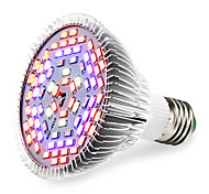 E27 LED Grow Lights 78 SMD 5730 2500-3200 lm Warm White Red Blue UV (Blacklight) K AC85-265 V
