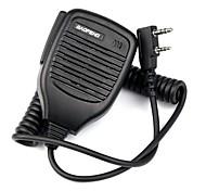 abordables -Micrófono del mic del altavoz del ptt de la mano 2pin para baofeng retevis tyt wouxun