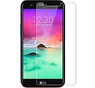 Недорогие -Защитная плёнка для экрана LG для LG K8 (2017) Закаленное стекло 1 ед. Защитная пленка для экрана 2.5D закругленные углы Уровень защиты