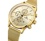 MEGIR Муж. Уникальный творческий часы Повседневные часы Часы Дерево Спортивные часы Модные часы Наручные часы Кварцевый Календарь