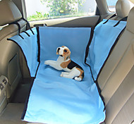 Недорогие -Кошка Собака Чехол для сидения автомобиля Животные Корзины Однотонный Бежевый Синий