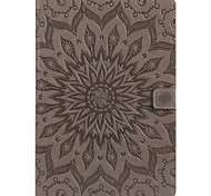 cheap -Case for ipad Pro 10.5 9.7 Cover Card Holder Wallet with Stand Flip Embossed Full Body Case Mandala Hard PU Leather for ipad 2017 5 6 mini 1.2.3.4