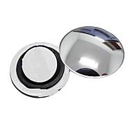 Недорогие -ziqiao 1 шт автомобиль зеркало заднего вида маленькое круглое зеркало широкоугольный регулируемые визуально выпуклая поверхность с
