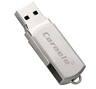 abordables -Caraele metal rotary fat man usb2.0 128gb flash drive u mémoire de disque