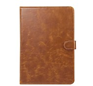 Solid Crazy Ma Pattern Genuine Leather Case with Stand for Huawei MediaPad T3 9.6 inch Tablet PC