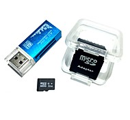 cheap -32GB MicroSDHC TF Memory Card with all in one USB Card Reader and SDHC SD Adapter