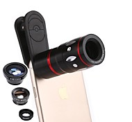 cheap -12X Macro 0.65X Wide Angle Camera Lens Camera Kit for Smartphone Xiaomi HUAWEI Samsung iPhone