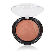 1Pcs Miss Rose  For Black Women Beauty Face Blush Makeup Baked Cheek Color Bronzer Blusher Palette Colorete Sleek Cosmetic Shadows