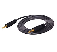 Audio jack de 3.5mm Cable, Audio jack de 3.5mm to Audio jack de 3.5mm Cable Macho - Macho 5,0 m (16 pies)
