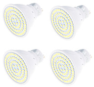 Недорогие -4 Вт. 320 lm GU10 Точечное LED освещение MR16 80 светодиоды SMD 2835 Декоративная Тёплый белый Холодный белый AC 220V