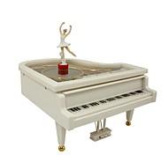 Недорогие -музыкальная шкатулка Игрушки Пианино Пластик Куски Универсальные День рождения Подарок