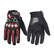 cheap -Full Finger Unisex Motorcycle Gloves Carbon Fiber Keep Warm Waterproof Breathable