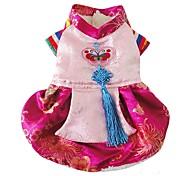 Недорогие -Собака Платья Одежда для собак На каждый день Принцесса Розовый Костюм Для домашних животных