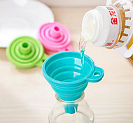 cheap -Candy Color Home Long Neck Funnel Creative Kitchen Gadgets Use Everyday 1pc