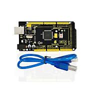 1Pcs Keyestudio MEGA 2560 R3 1Pcs USB Cable For Arduino MEGA 2560 R3/AVR
