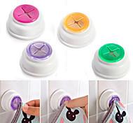 Недорогие -Резиновая всасывающая накладка ткань держатель для полотенца для чая резиновая вставка в самоклеющейся задней части 1шт
