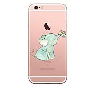 Недорогие -Чехол для iphone 7 6 слон tpu мягкая ультратонкая задняя крышка чехол iphone 7 плюс 6 6s плюс se 5s 5 5c 4s 4