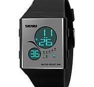 SKMEI® 1169  fashion sport women digital watches LED display PU starp 50m waterproof casual brand ladies blue black watches reloj mujer