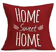 cheap -1Pcs Fashion Retro Style Flax Pillow Cover High Quality Fresh Style