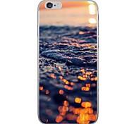 Случай для яблока iphone 7 7 плюс крышка случая естественная картина пейзажа hd покрасила более толстый материал tpu мягкий случай случай