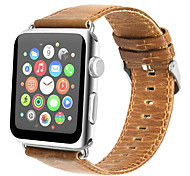 For Apple Watch Series 3 2 1 Genuine Leather Watch Band Strap  42mm 38mm