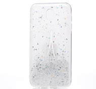 Case For Samsung Galaxy J5 (2017) J3 (2017) Transparent Pattern Back Cover Eiffel Tower Soft Silicone for J7 (2017) J5 (2017) J3 (2017)
